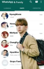 《 Whatsapp & Family 》 [Monsta X Chats] <KiNu Chats> by Zuhozuko