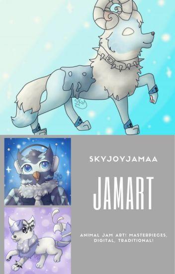 Jamart- My Animal Jam Art