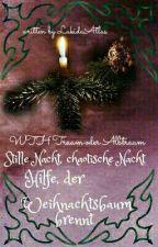 Stille Nacht, chaotische Nacht... - Hilfe, der Weihnachtsbaum brennt! by Lukida-Atlas