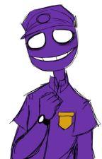 ask or dare purple guy by dantirocks