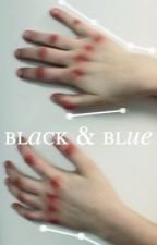 BLACK AND BLUE; LIP GALLAGHER  by avoidlydia