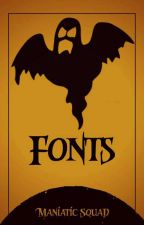 Fonts by ManiaticSquad