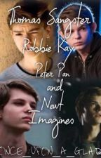 Thomas Sangster, Robbie Kay, Peter Pan, and Newt Imagines by Once_Upon_A_Glade