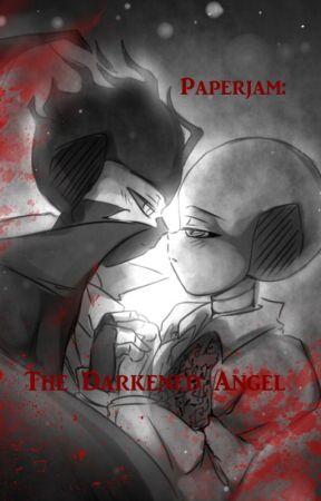 Vampire Paperjam: The Darkened Angel by raroberts19