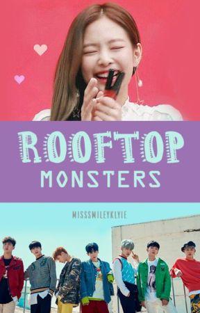 Rooftop Monsters by MissSmileyKylie