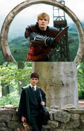 New students (Harry Potter/Merlin Crossover