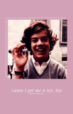 Cause I got me a toy, toy |spanish translation.| by kittxnx