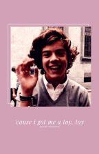 cause i got me a toy, toy  spanish translation.  by kittxnx
