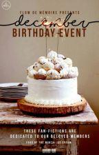 [DECEMBER] Staff Birthday Event by flowdememoire