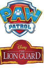 Paw Patrol y La Guardia del León by ToonNickWilde