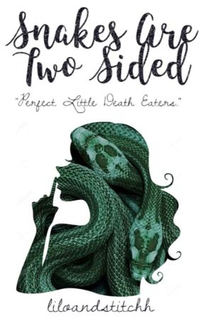 snakes are two sided // Draco x reader by liloandstitchh