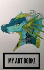 MY ART BOOK!  by KatelynnQuindara