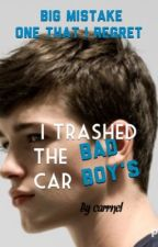 I trashed the bad boy's car by carrnel