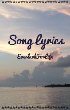 Song Lyrics by KingdomCat14