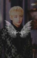 wings | taehyung× by kkimiyoung
