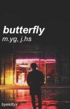 butterfly || j.hs, m.yg by byekittyy