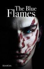 Blue Flames Boyxboy  by hybridGirle