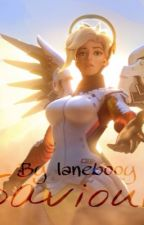 Saviour (Genji x Mercy) by aingealvalk