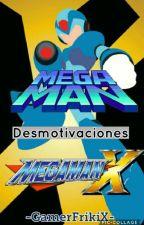 MegaMan y MegaMan X [Desmotivaciones] by -GamerFrikiX-