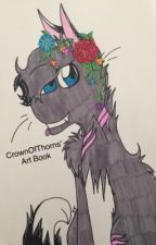 -My Art Book- by CrownOfThorns08