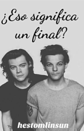 ¿Eso significa un final? (OS) | H&L. by hestomlinsun