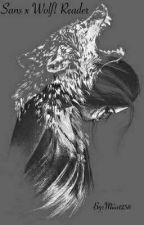 Sans X wolf!reader  by Miia1238