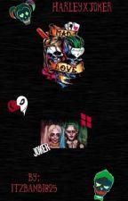 Harley & Joker  by AmberLove309