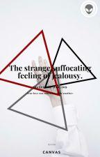 The strange suffocating feeling of jealousy. by DVRKARMY