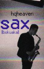 sax ||bokuaka|| by hqheaven