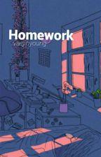 homework ⏩park jimin by kiyoaewo-
