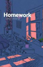❛C❜ homework ❥ jimin by vaejinyoung