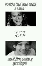 You're the one that I love and I'm saying goodbye ❥ lwt+hes by redmirrors