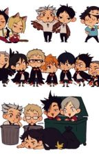 Haikyuu x reader by Magi_Malkin