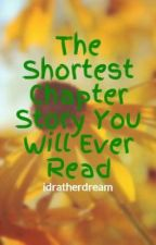The Shortest Chapter Story You Will Ever Read by idratherdream