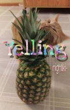 Yelling  by nightiki-