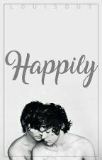 Happily || Larry Stylinson  by louisout