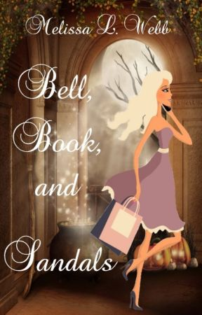 Bell, Book, and Sandals by melissalwebb