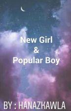 New Girl and Popular Boy by hanazkawla