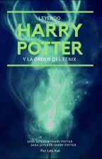 Leyendo Harry Potter  by leokatcarri