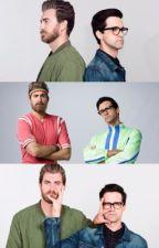 Fantasies (Rhett&Link)  by eyaaannnaa