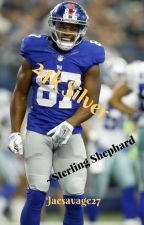 24k SIlver ~Sterling Shepard~ by jaesavage27