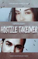 Hostile Takeover ❖ Jake Riley | ✓ [book 1] by 1spotlight1