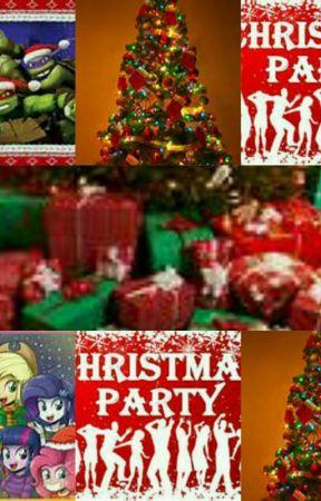 Mlp Christmas.Tmnt And Mlp Christmas Party Beautiful Christmas Wattpad