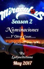 Nominaciones y otras cosas  by Ladynettetinna