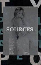Sources  ⌲ C. Evans by -snarkystark