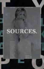 Sources  ⌲ C. Evans by cateroman