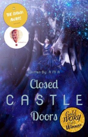 Closed Castle Doors by Amaze_onetrustno