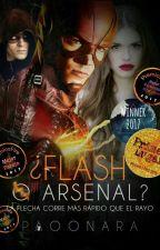 ¿Flash o Arsenal?.  #PLA2017 #RaekenAwards2017  by PaooNara