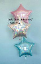 little blood & big wolf || joshler || by flowersareniceee