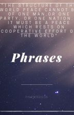 Phrases by pinkfergie06